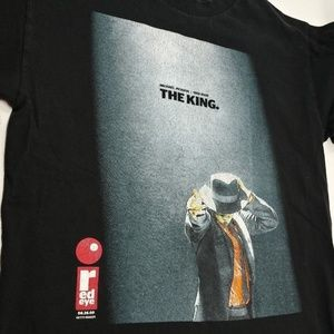 Michael Jackson THE KING OF POP 1958-2009 T-Shirt